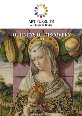 Journeys of Discovery from Art Pursuits 2021 - Brochure Image