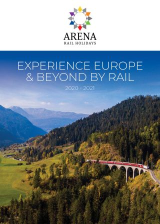 Experience Europe & Beyond by Rail 2020/21 - Brochure Image