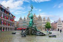 Brabo fountain in Antwerp
