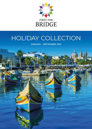 First for Bridge Holiday Collection 2021 - Brochure Image