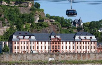 Koblenz Cable Car & Ehrenbreitstein Fortress