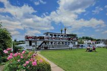 Southern Comfort Mississippi Paddle Boat