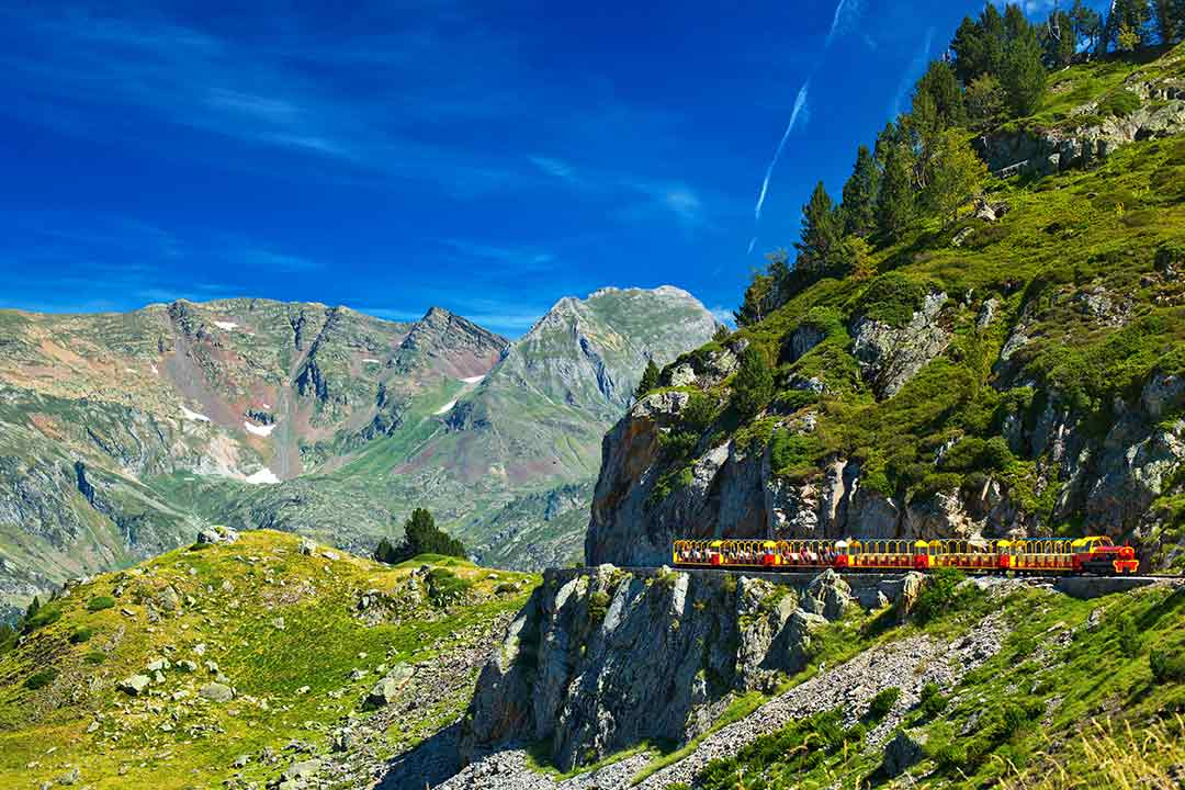 Red Train of the Pyrenees