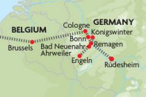 Rhine Valley map