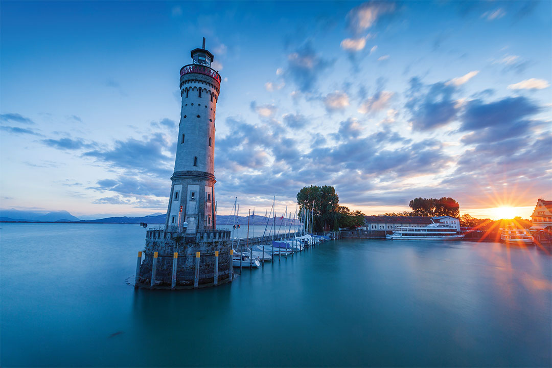 Bodensee lighthouse