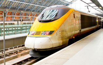 Picture of - Eurostar from St Pancras