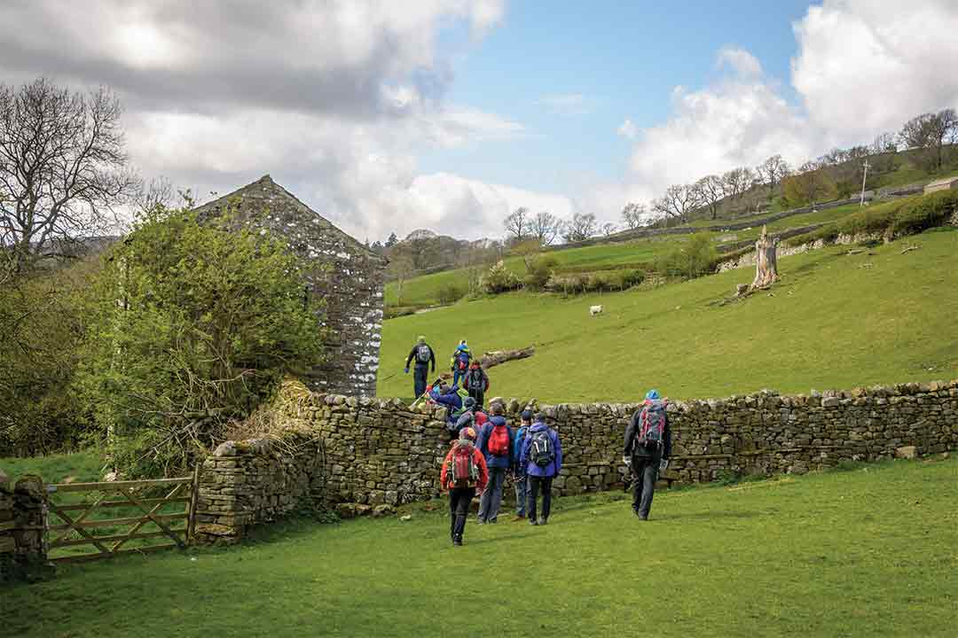 Walking Group in Yorkshire
